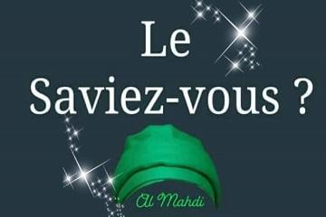 Le Saviez-Vous ? Al Mahdi